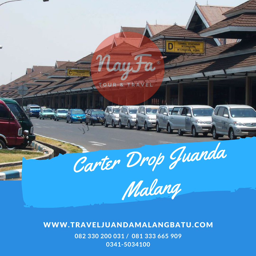 travel malang juanda dan carter drop malang juanda
