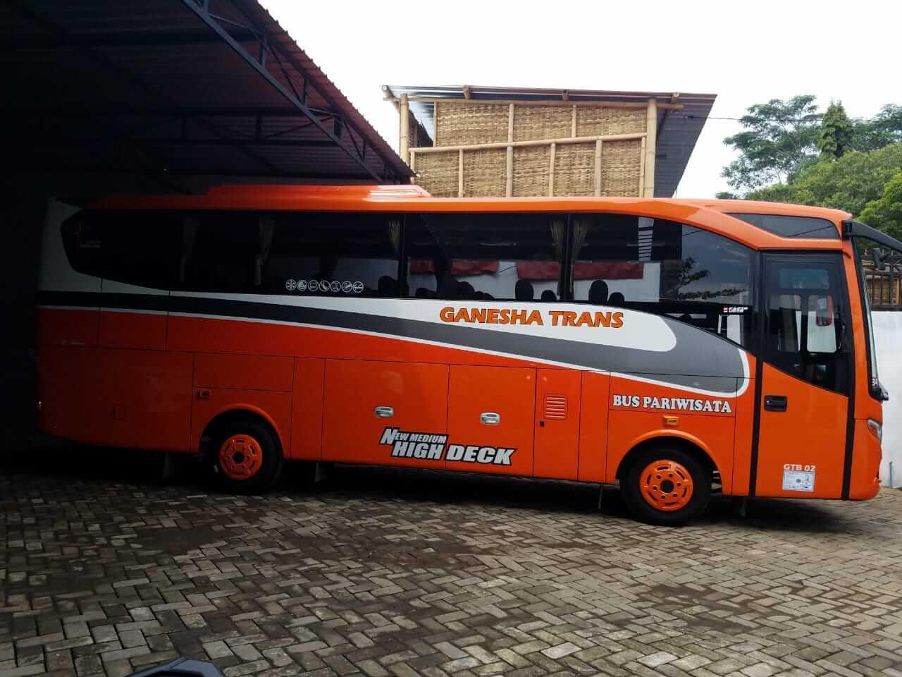 Sewa Bus di Malang