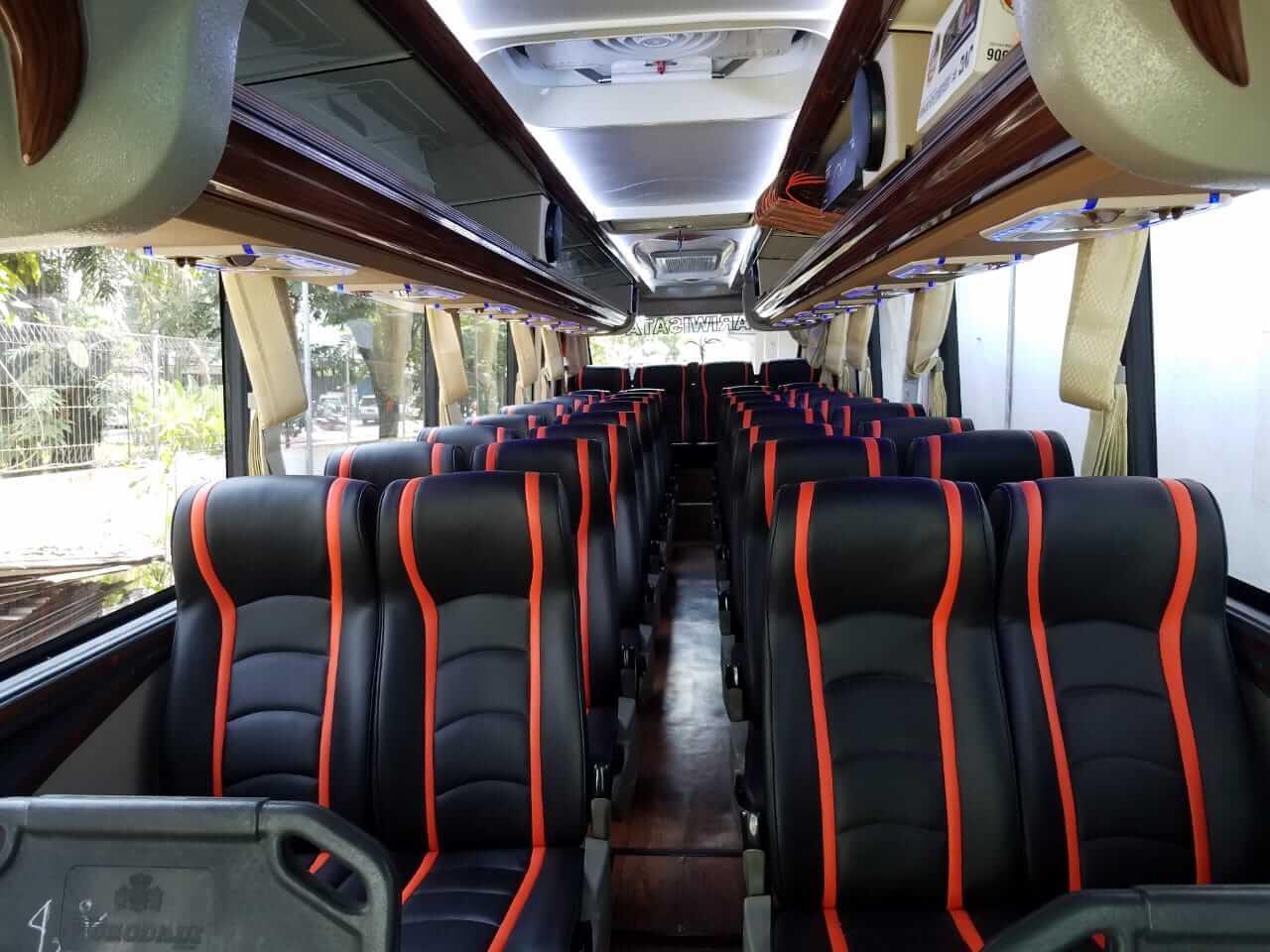 Sewa Bus pariwista di Malang
