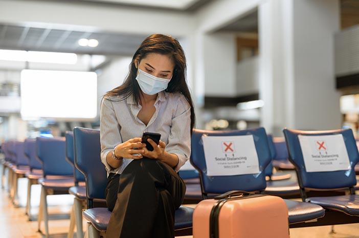 protokol kesehatan di pesawat