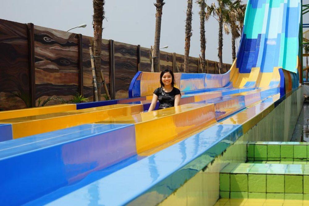 hawai waterpark ekolu slide