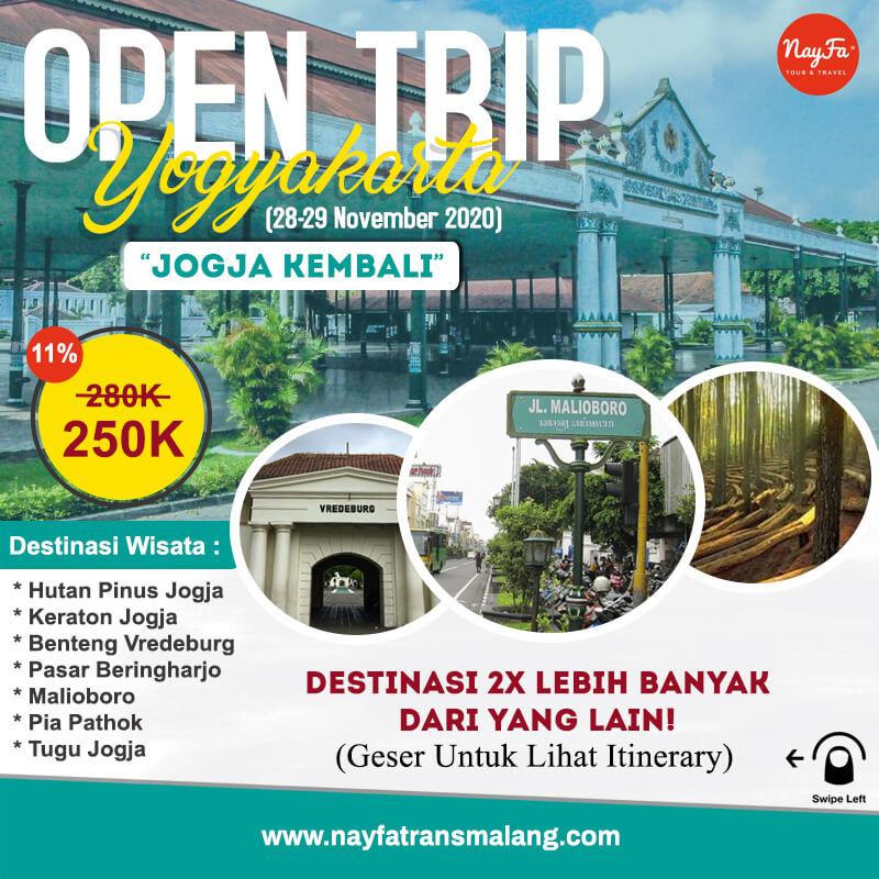 open trip jogja