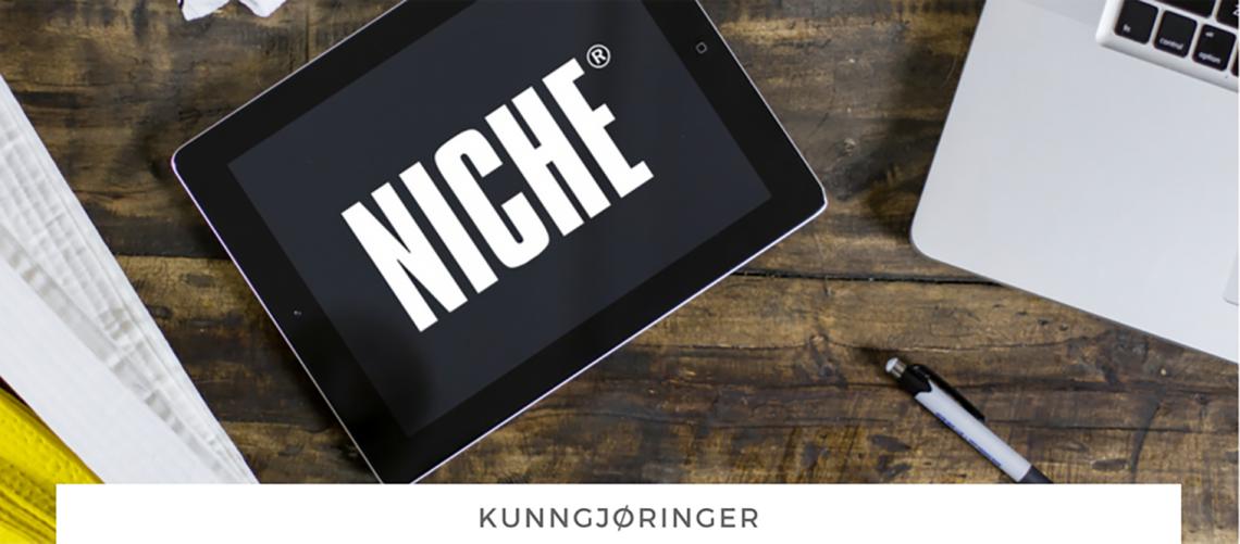 NICHE lanserer ny nettside!