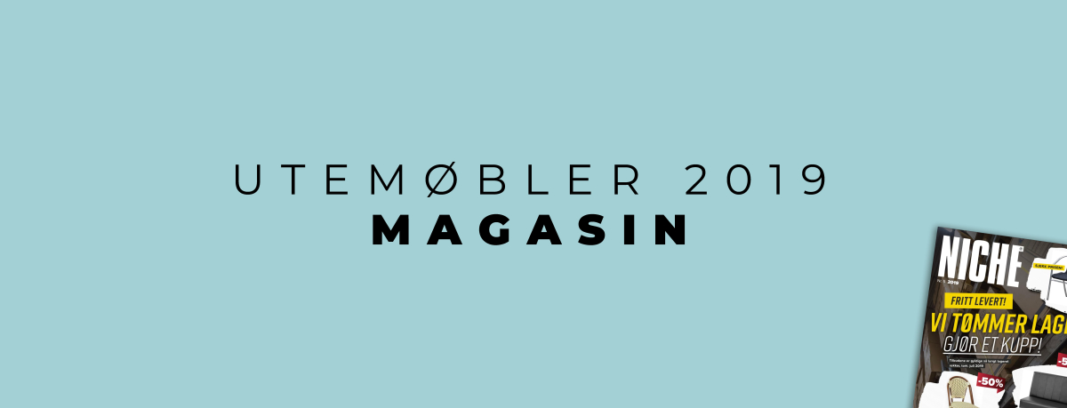 Utemøbler magasin 2019