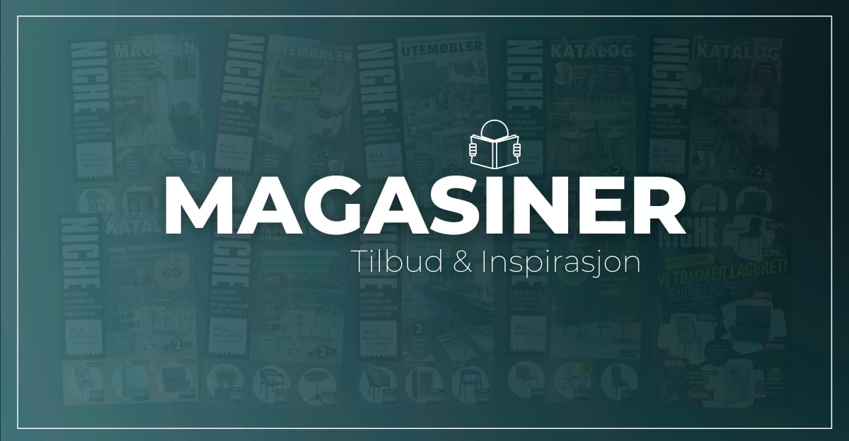 Kataloger og magasin