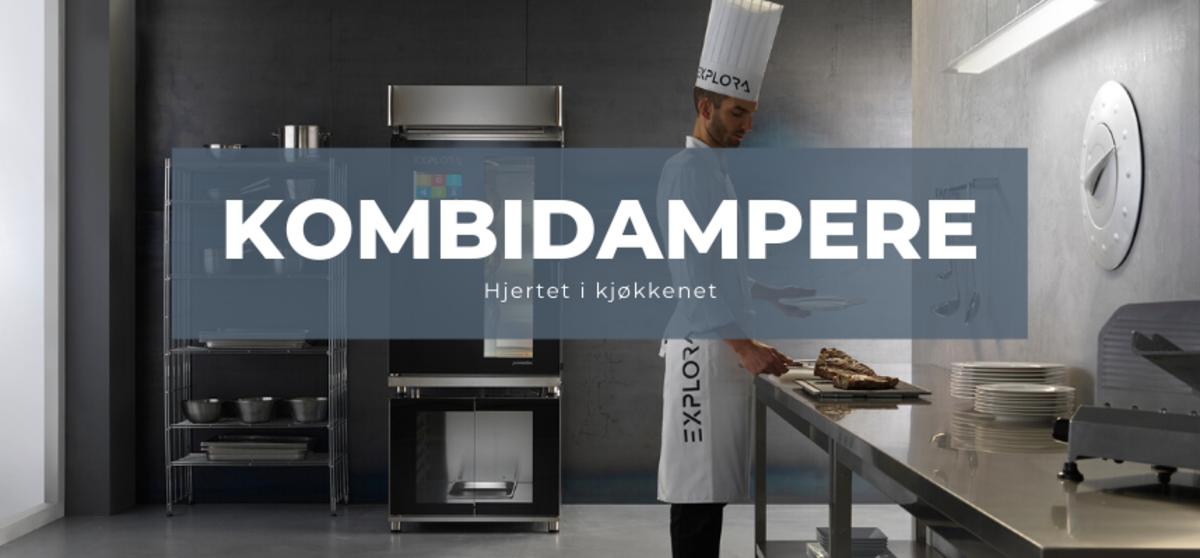 Kombidamperen - Hjertet i kjøkkenet