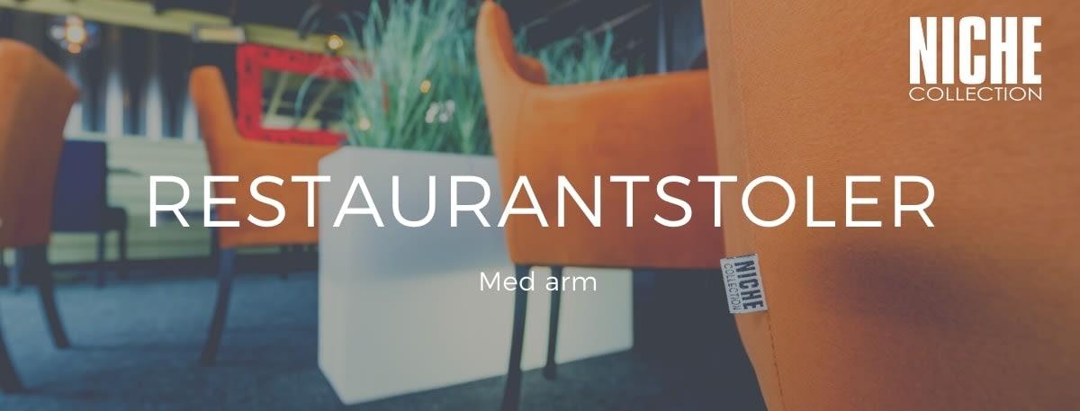 Restaurantstoler m/arm