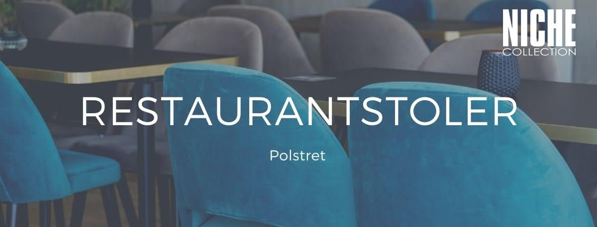 Restaurantstoler polstret