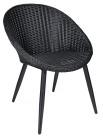 Alicante stol, svart