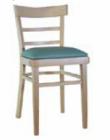 Cafe stol Polstret versjon
