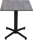 StableTable/ Tarred wood Ontop 60x70