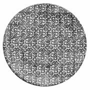 Tallerken flat Ø 27,5 cm Vesta, svart