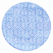 Tallerken flat Ø 27,5 cm Vesta, blå