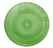 Tallerken flat Ø 22 cm Ceres, grønn