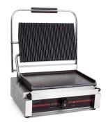 Contact grill Panini, riflet/slett