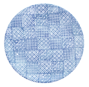 Tallerken flat Ø 27,5 cm Minerva, blå