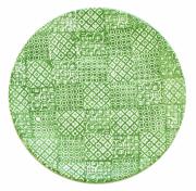 Tallerken flat Ø 27,5 cm Minerva, grønn