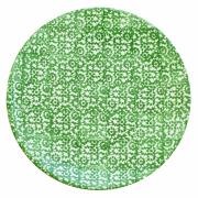 Tallerken flat Ø 27,5 cm Vesta, grønn