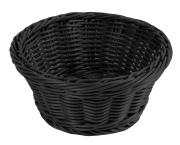 Brødkurv Ø 18,5 cm, svart