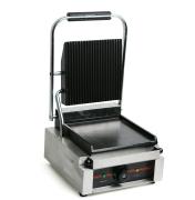 Contact grill, riflet/slett