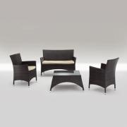 GR909 sett med sofa, 2 stoler og 1 bord