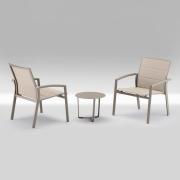Sett med 2 stoler & bord