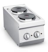 ATA Elektrisk koke topp 2 RUNDE PLATER