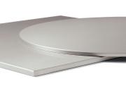 Rustfri stål bordplate