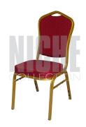 Royal Konferansestol rød/ gull