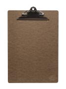 Klippsbrett menyholder A4 - brun