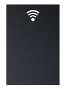 Siluett tavle - wifi