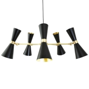 CAIRO FIVE-ARM CONTEMPORARY CHANDELIER