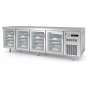 Kjølt Konditordisk, 4 glassdører