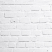 Hvit røff murstein
