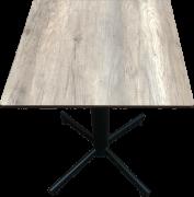 Stabletable/ vintage wood ontop 60x60