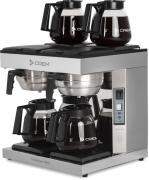 Automatisk filterbrygger DA-4 - 2x1,8 liter inkl.4 kanner. (3-fas)