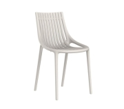 Ibiza, stol, resirkulerbar plast, glassfiber, utemøbler