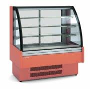 CORECO Kjølt eksponeringsdisk med buet front L=950mm