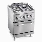 ATA Gass kokebord med el.stekeovn