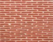 Rød mursteinsvegg, B01
