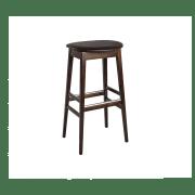 Oval barstol