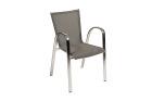 Campo stol, svart/vit