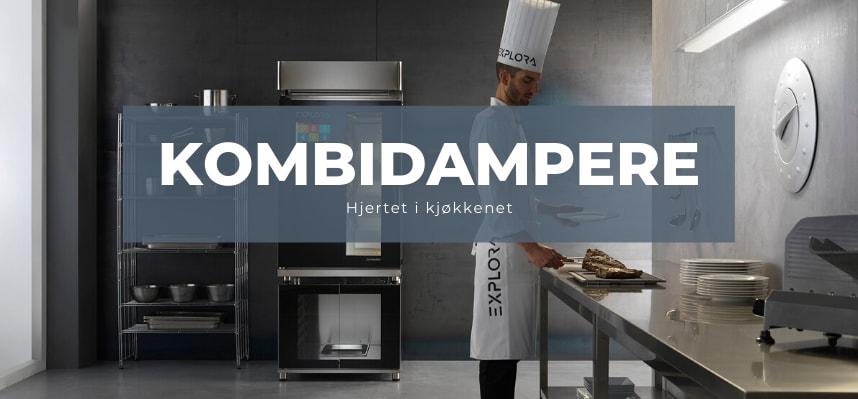 PIRON Kombidampere til restaurant, bakeri, konditori og matprodusenter.