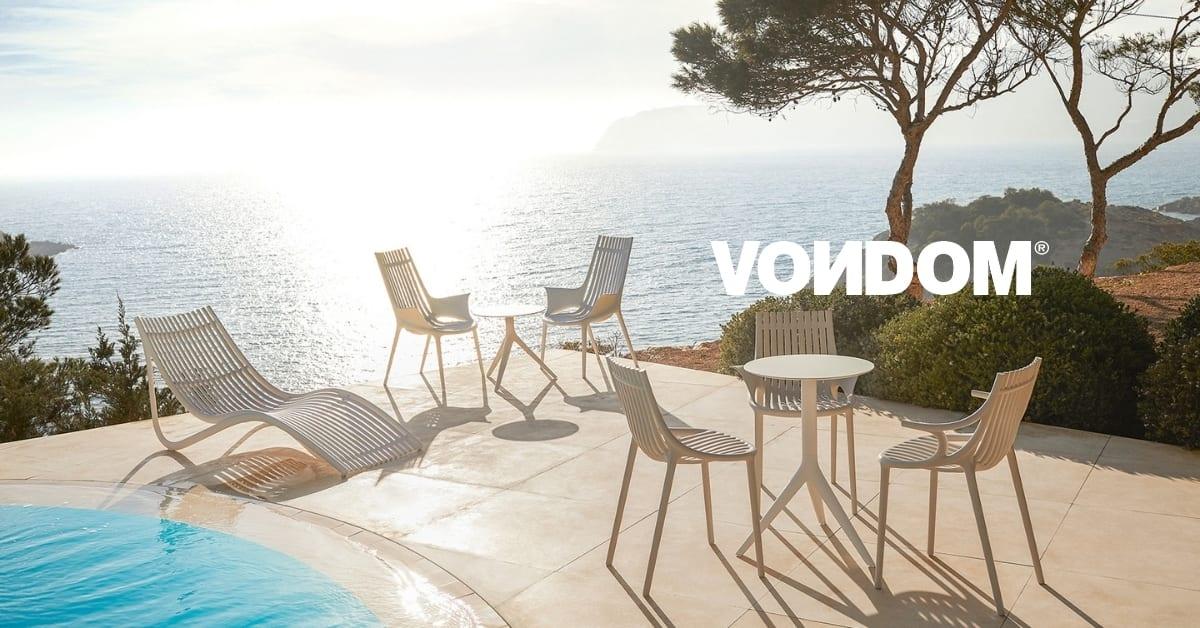 VONDOM utemøbler - Laget av plast fra havet.