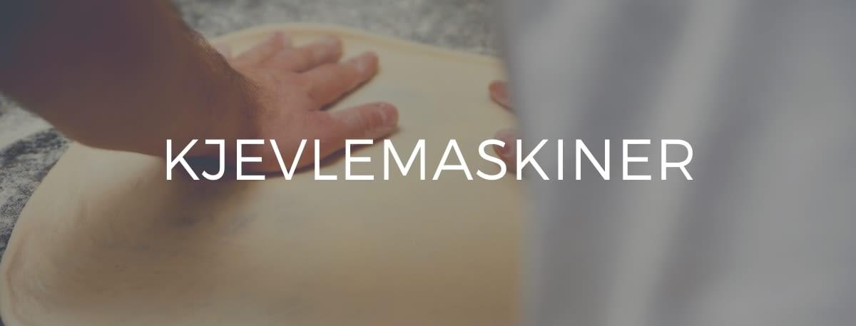 Kjevlemaskiner til pizzarestauranter og bakeri.