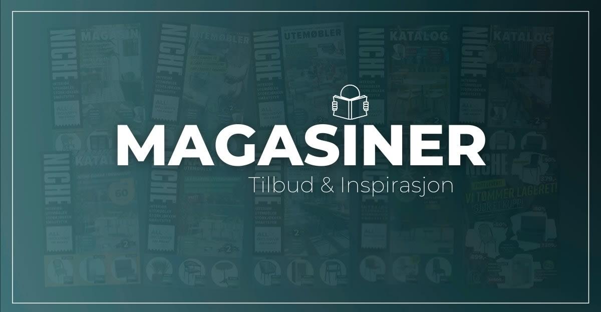 Kataloger og magasin