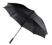 Paraply vindsikkert, svart
