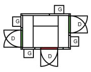 KJØLEROM 2190 x 1590 x 2160mm