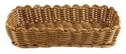 Bestikkurv 26,5x10 cm, brun
