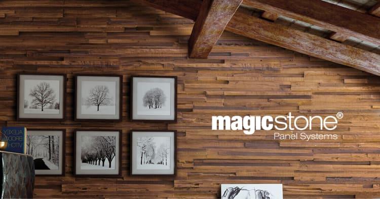 Magi med MagicStone veggpaneler